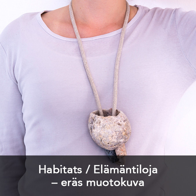 Link to view jewellery art collection Habitats by Hanna Ryynänen