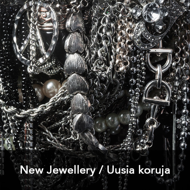 Link to view newest pieces of jewellery art by Hanna Ryynänen